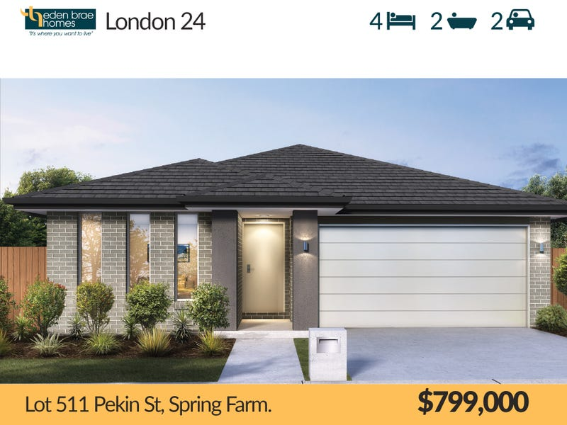 Lot 511 Pekin St, Spring Farm, NSW 2570