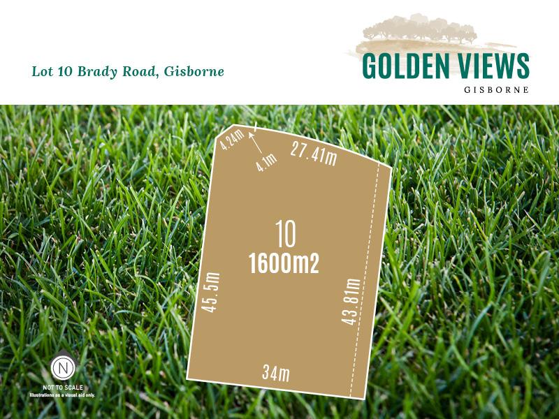 Lot 10, Morand Street (Golden Views), Gisborne, Vic 3437