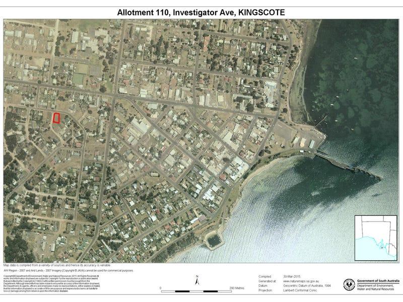 Lot 110 Investigator Ave, Kingscote, SA 5223