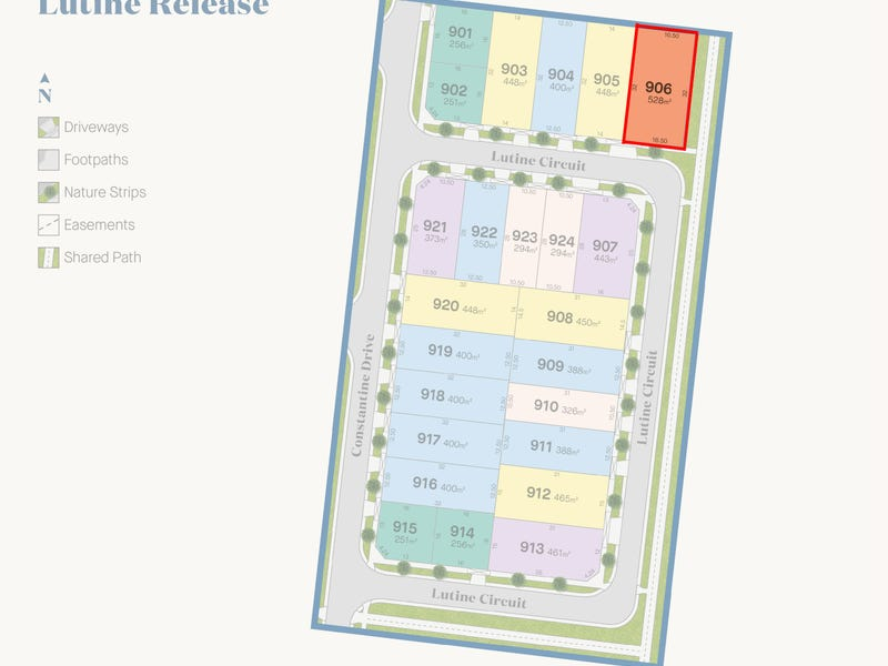 Lot 906, Lutine Circuit, Point Cook, Vic 3030