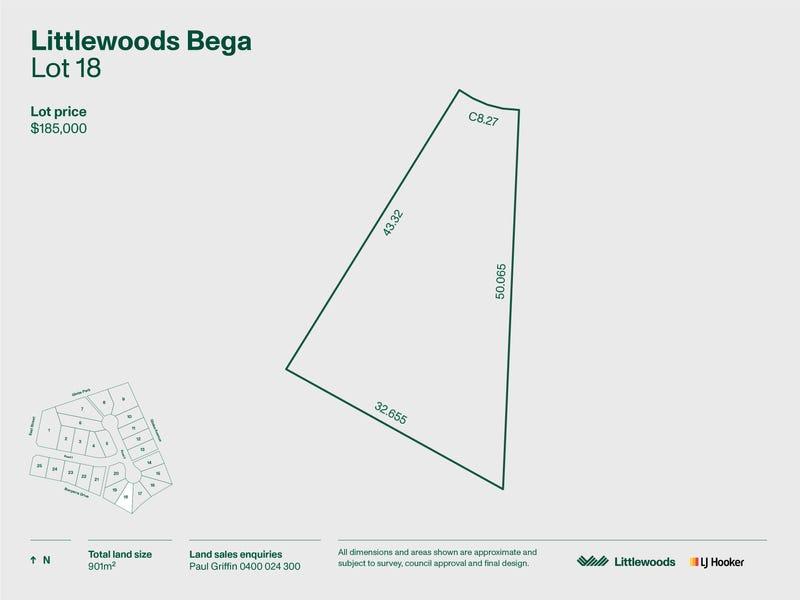 Lot 18 Littlewood Estate, Bega, NSW 2550