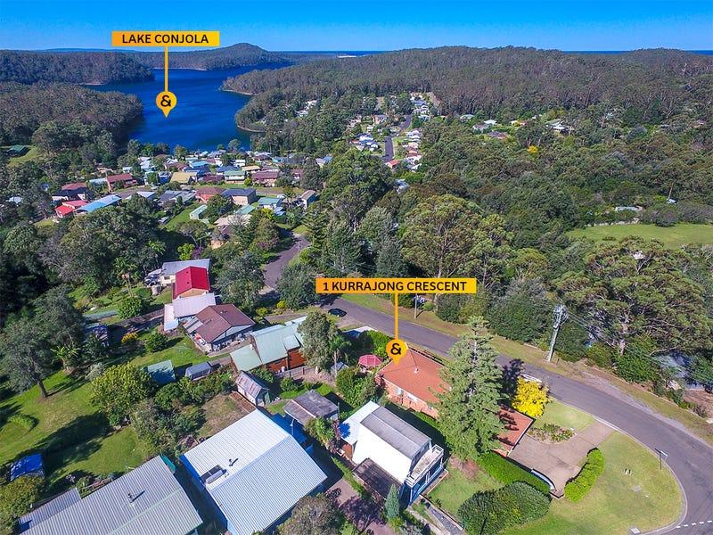 1 Kurrajong Crescent, Conjola Park, NSW 2539