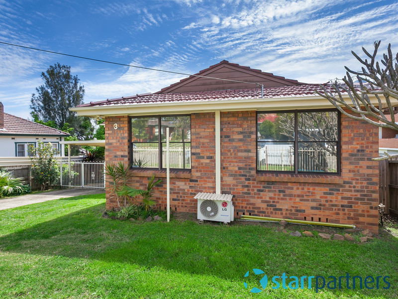 3 Rhodes Avenue, Guildford, NSW 2161