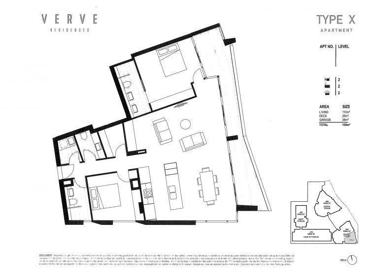 1101/464 King Street, Newcastle, NSW 2300 - floorplan