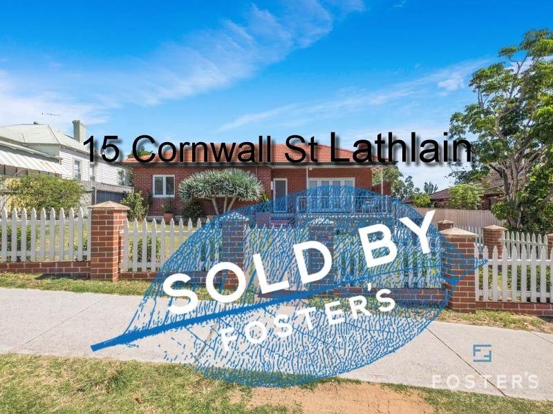 15 Cornwall Street, Lathlain, WA 6100