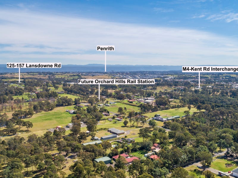 125-157 Lansdowne Road, Orchard Hills, NSW 2748