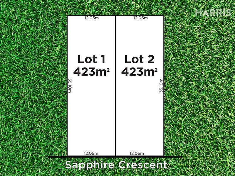 Lots 1-2,8 Sapphire Crescent, Highbury