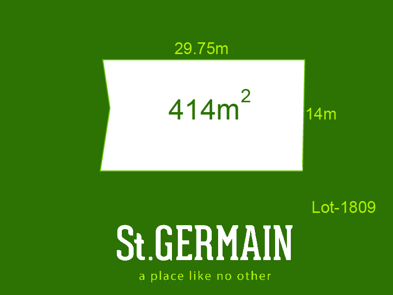 Lot 1809, St Germain, Clyde North, Vic 3978