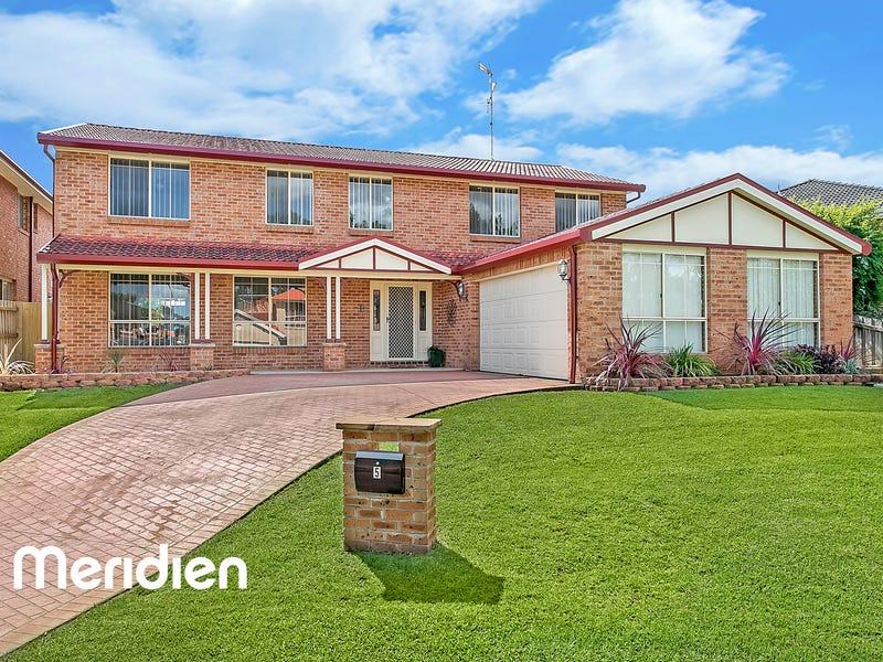 5 Karinya Place, Kellyville, NSW 2155