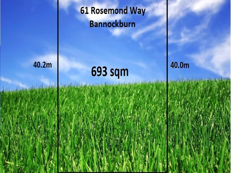 61 Rosemond Way, Bannockburn, Vic 3331