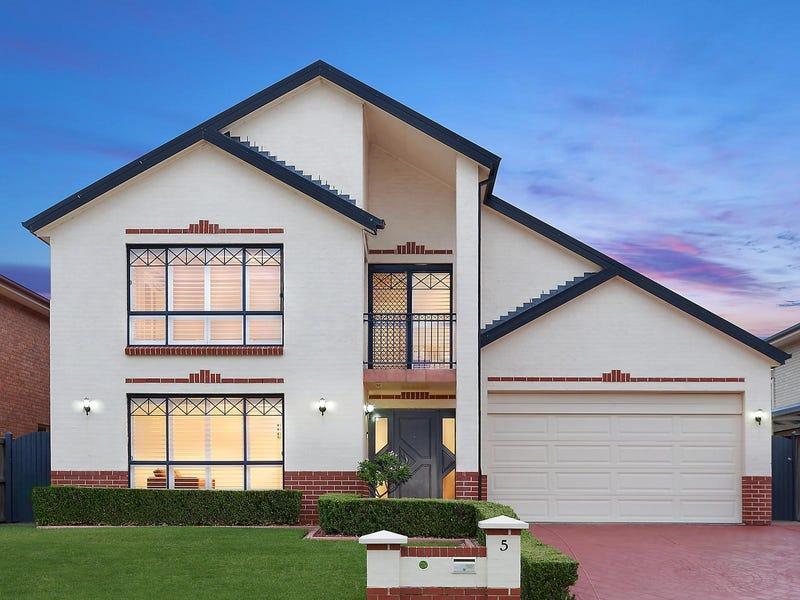5 Wildrose Street, Kellyville, NSW 2155