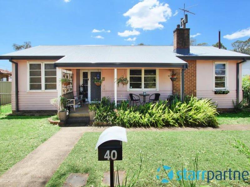 40 Liddle Street, North St Marys, NSW 2760