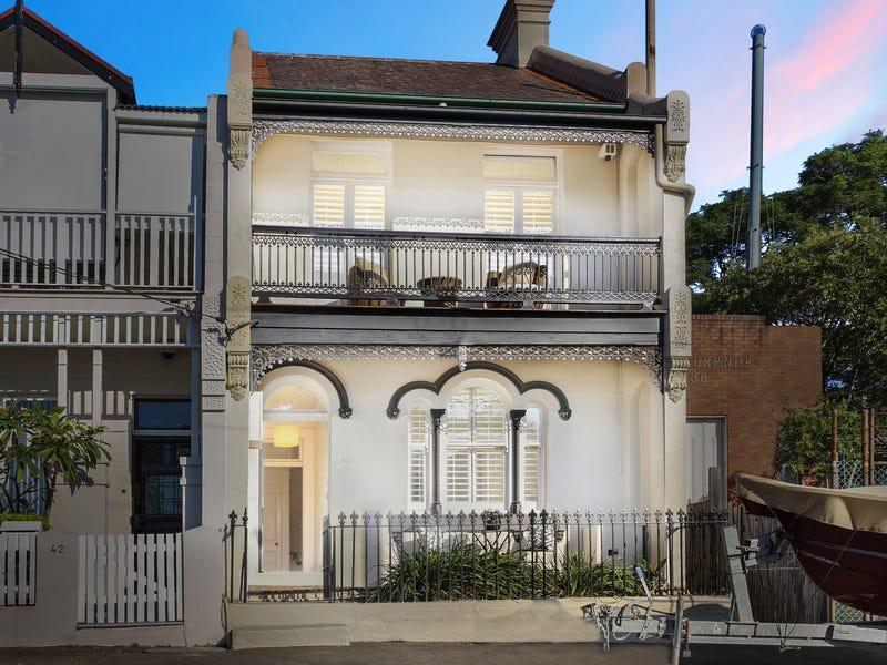 44 Fitzroy Avenue, Balmain, NSW 2041