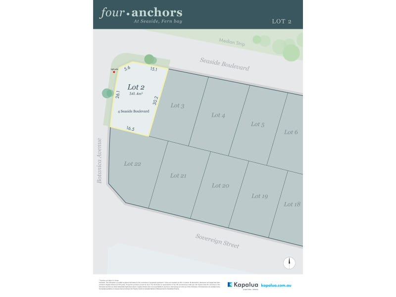 Lot 2, 4 Seaside Boulevarde, Fern Bay, NSW 2295