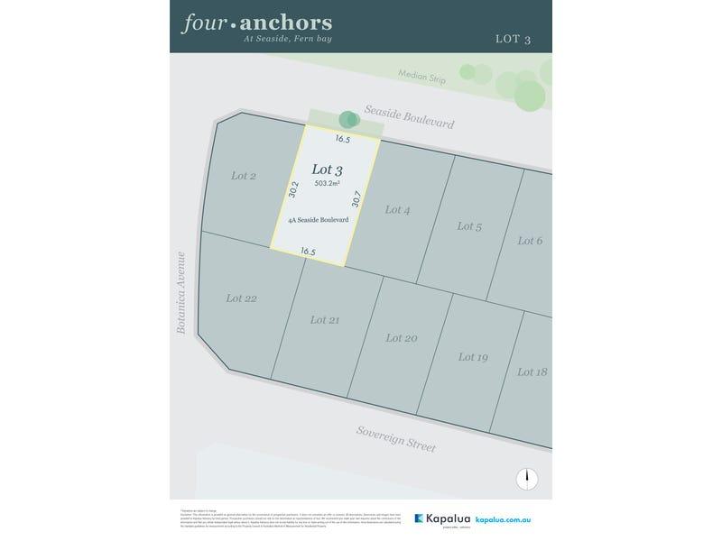Lot 3, 4a Seaside Boulevarde, Fern Bay, NSW 2295