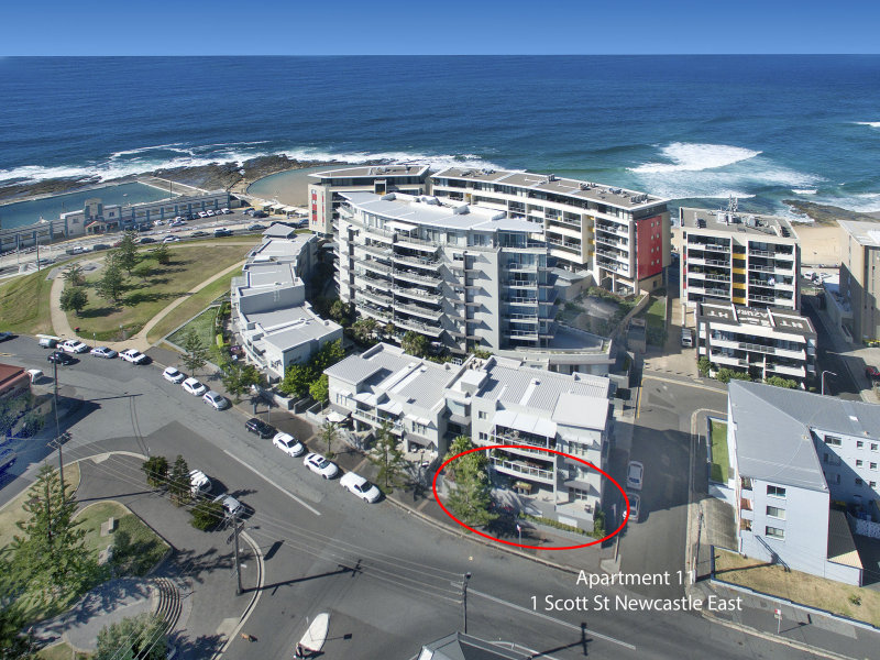 11/1 Scott Street, Newcastle East, NSW 2300