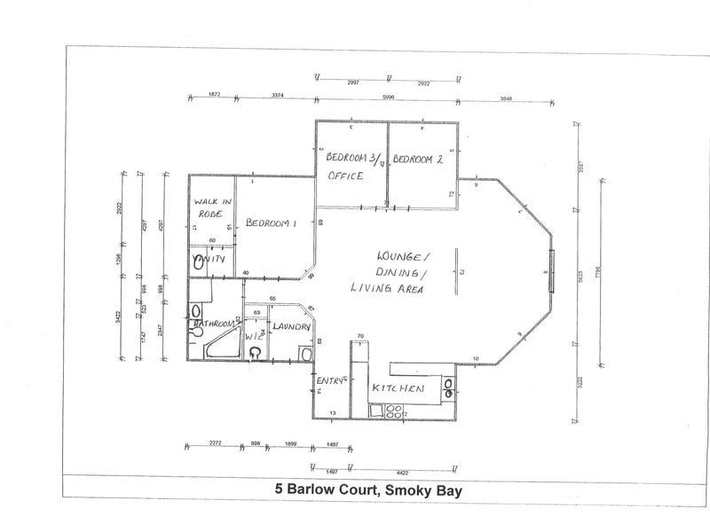 5 Barlow Court, Smoky Bay, SA 5680 - floorplan