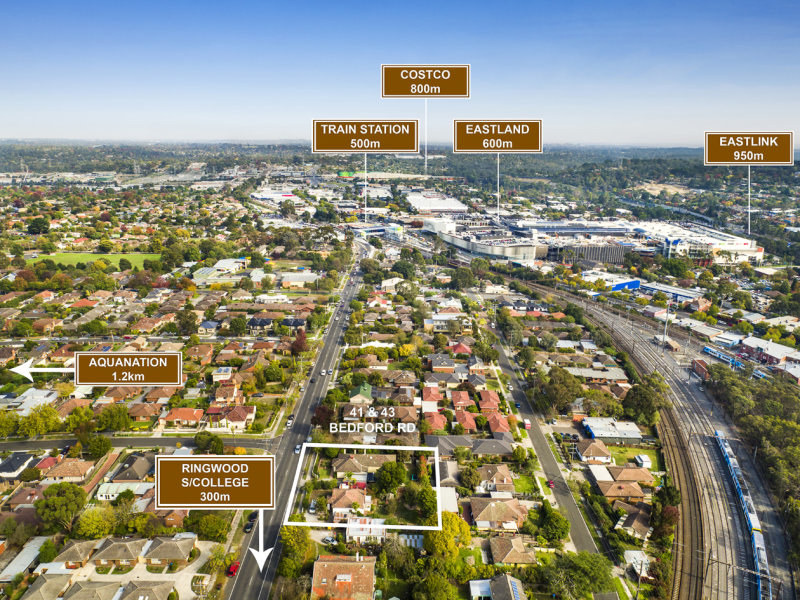 41 & 43 Bedford Road, Ringwood, Vic 3134