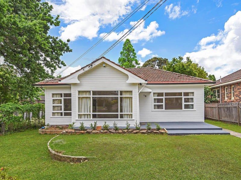 18 Stewart Avenue, Hornsby, NSW 2077