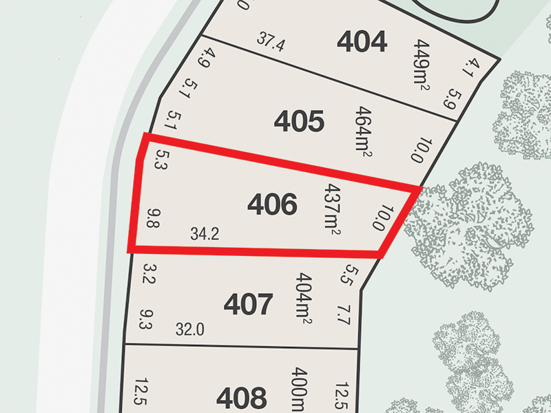 Lot 406, Fairways Stage 2, Brookwater