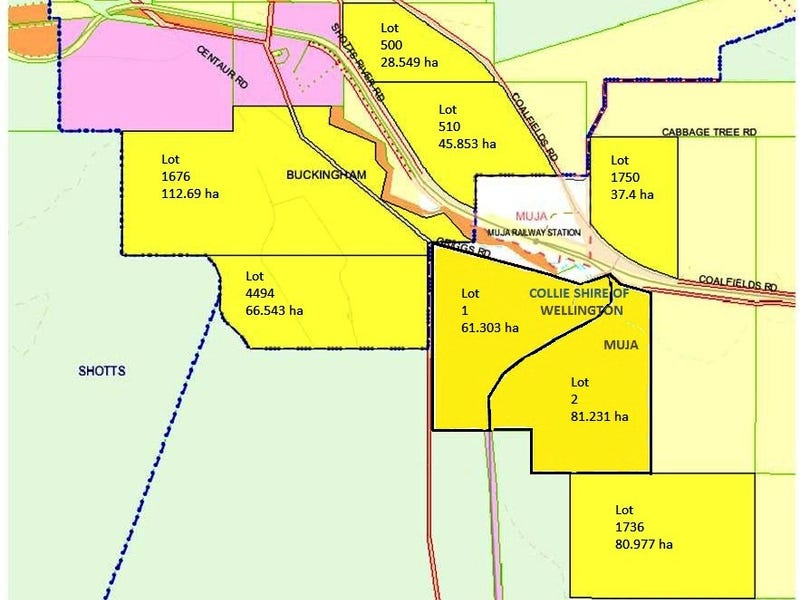 Lots Coalfields Highway, Muja, WA 6225