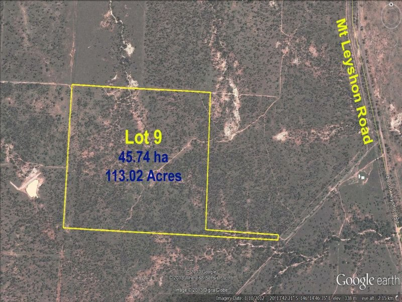 Lot 9 Macovin Ridge Road, Charters Towers City, Qld 4820