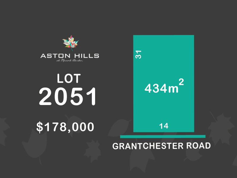 Lot 2051, Grantchester Avenue (Aston Hills), Mount Barker, SA 5251