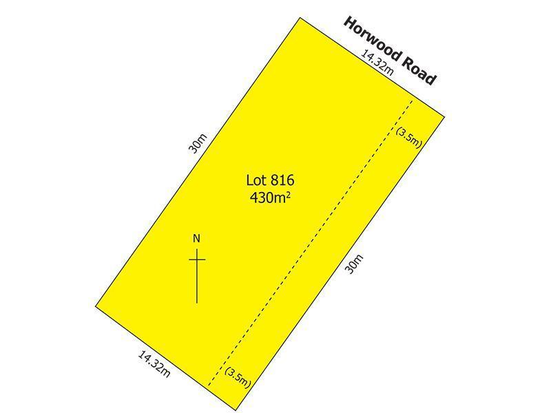 Lot/816 Horwood Road, Salisbury North, SA 5108
