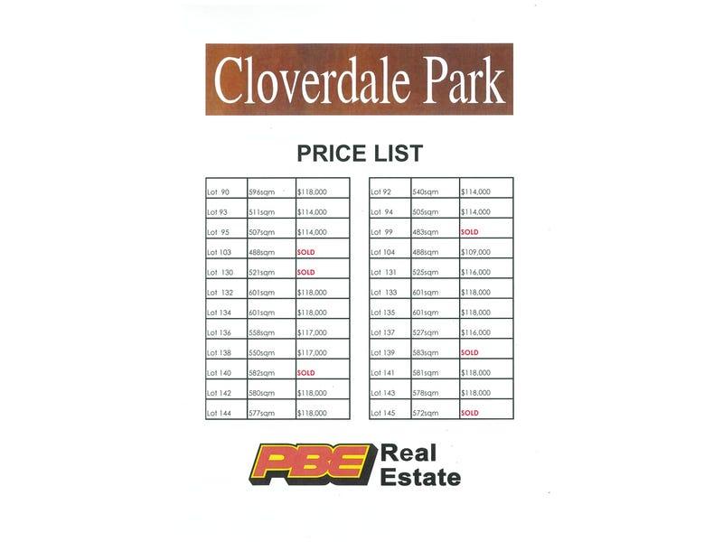 Lot 93 Cloverdale Park, Dalyston, Vic 3992