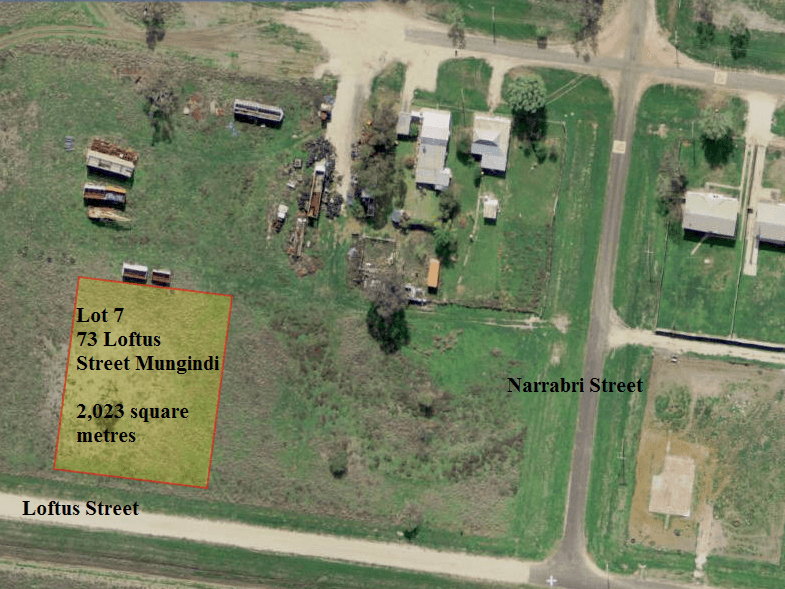 Lot 7, 73 Loftus Street, Mungindi, NSW 2406
