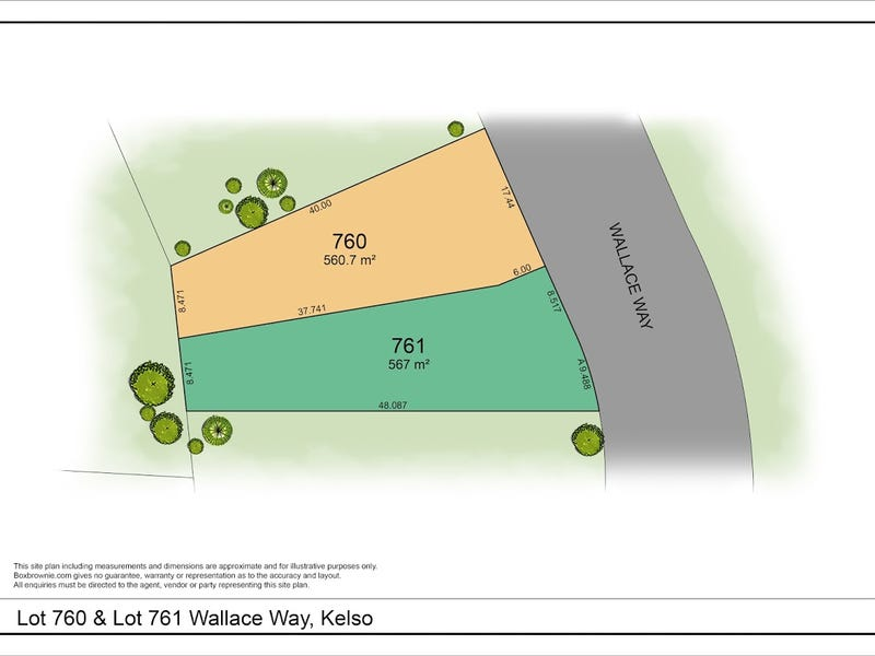 Lot 761, Wallace Way, Kelso, NSW 2795