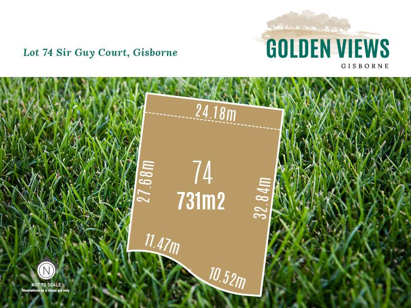 Lot 74, Sir Guy Court (Golden Views), Gisborne, Vic 3437