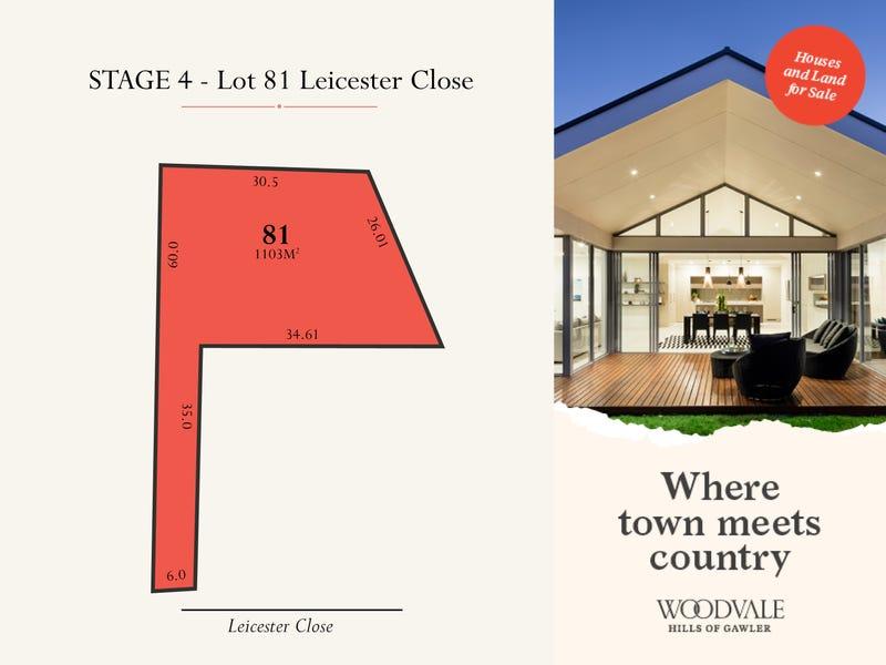 Lot 81 Leicester Close, Gawler South, SA 5118