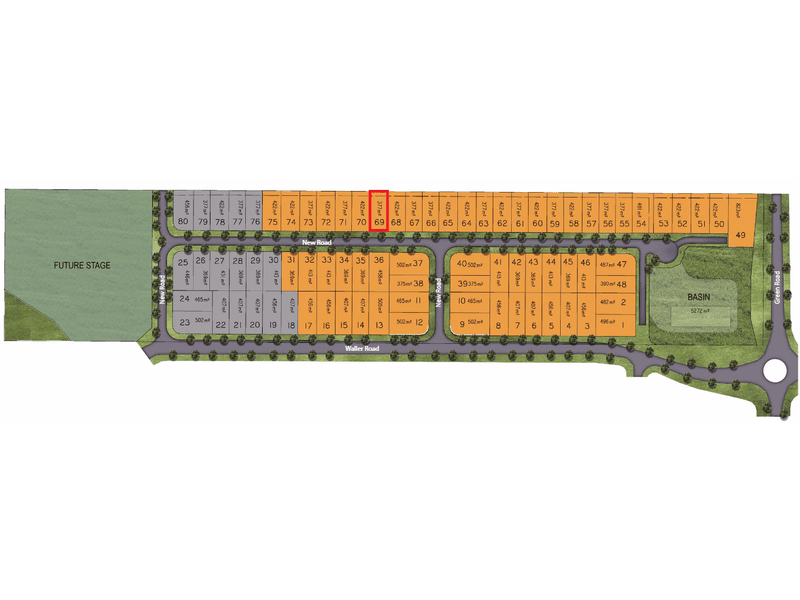 Lot 69, Golden Gate Avenue, Park Ridge, Qld 4125