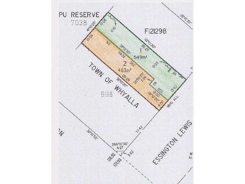 Lot 1 and 2, 69 ESSINGTON LEWIS AVENUE, Whyalla, SA 5600