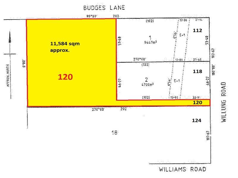 120 Willung Road, Rosedale