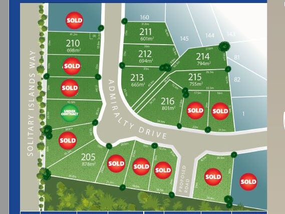 Lot 217 Admiralty Drive - Stage 11, Safety Beach, NSW 2456