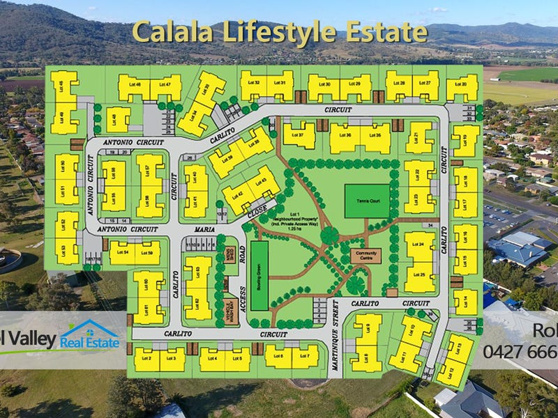 . CALALA LIFESTYLE ESTATE - Torrens Title Villas, Tamworth