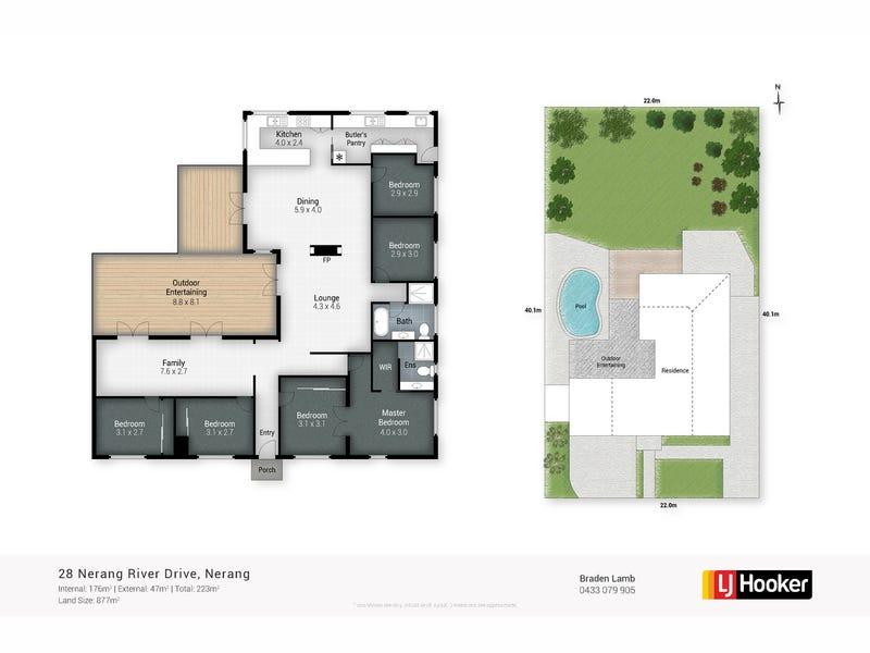 28 Nerang River Drive, Nerang, Qld 4211 - floorplan