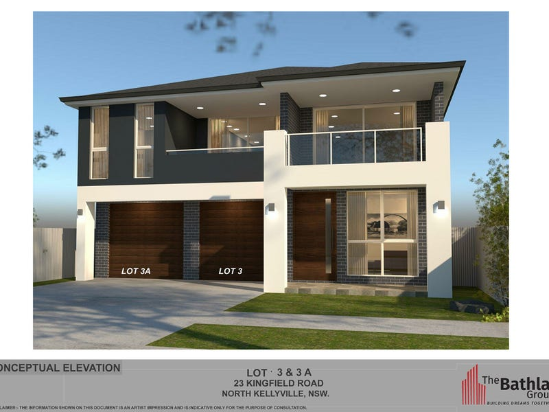 Lot 3A / 23 Kingfield Road, North Kellyville, NSW 2155