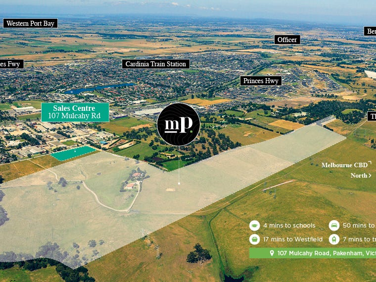 Lot 185, 125 Mulcahy Road, Pakenham, Vic 3810