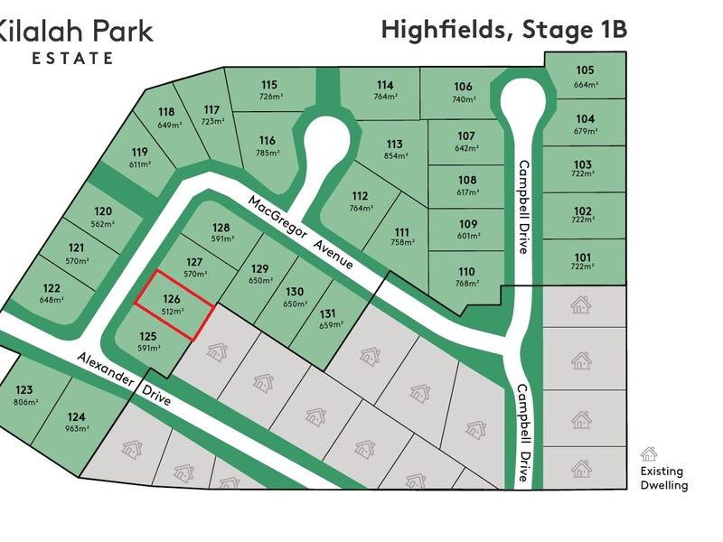 Lot 126, 126 MacGregor Avenue, Highfields, Qld 4352