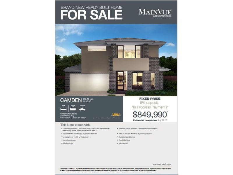 lot/1173 Kirby way, Oran Park