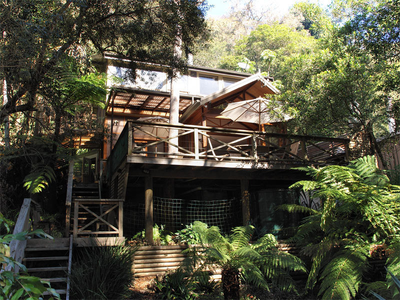 The Treehouse / 61 Monash Ave, Great Mackerel Beach, NSW 2108