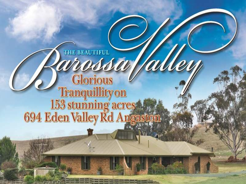694 & 781 Eden Valley Rd, Angaston, SA 5353