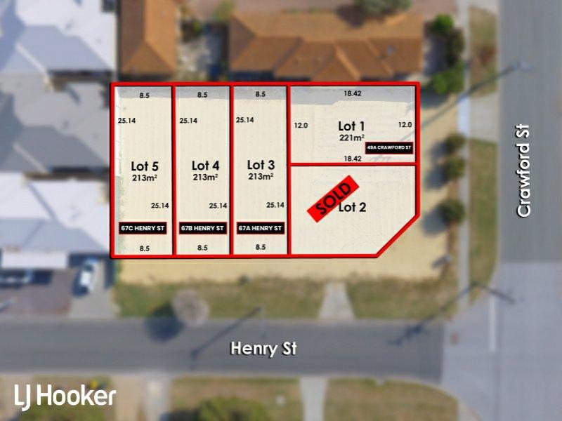 67A, B & C Henry St & 49A Crawford St, East Cannington, WA 6107