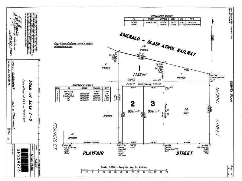 Lot 1&2 , 8 Playfair Street, Clermont, Qld 4721