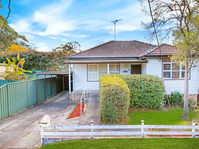 15 Hunter Street, Heathcote, NSW 2233