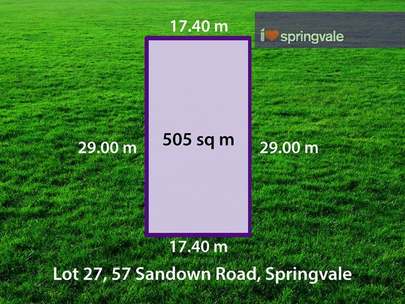 Lot 27, 57-59 Sandown Road, Springvale, Vic 3171