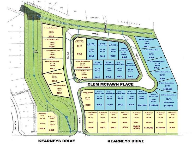 Stages 1+2 Kearneys Dr, Orange